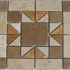 Travertin Medalion Mosaic 03