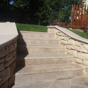 Granit galben antiderapant