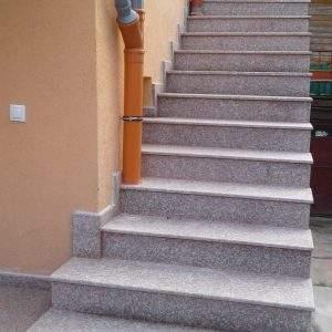 Granit gri antiderapant